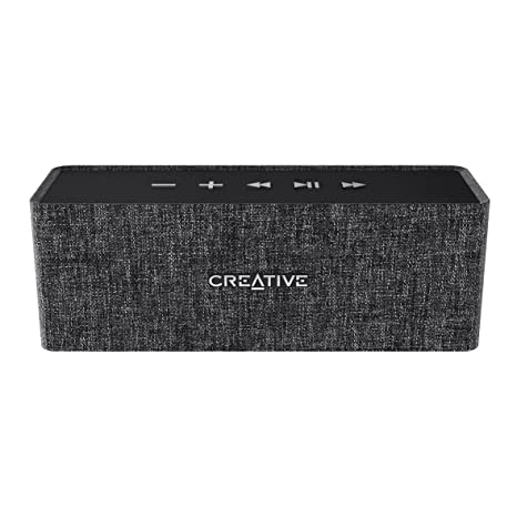 Creative NUNO Bluetooth Wireless Speaker - BLACK (51MF8270AA001) [BY only Store Name- AIIPL_BLR] Bluetooth Speakers at amazon