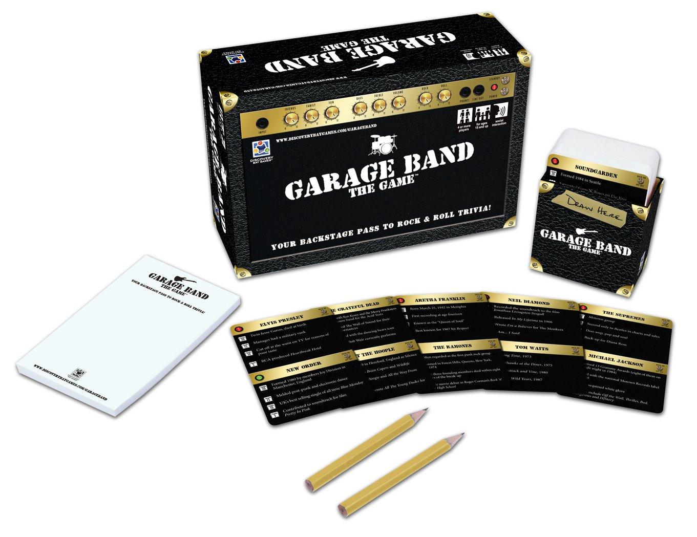 The Game Discovery Bay Games Garage Band