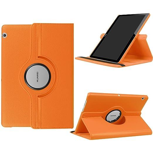 2 opinioni per Funluna HUAWEI MediaPad T3 10 Cover- Slim Girevole Smart 360 gradi di Rotazione