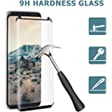 Galaxy S8+ Screen Protector, Casemania Tempered Glass Screen Protector for Samsung Galaxy S8+ [5.8 inch], Full Coverage, Ultra HD Clear, Anti-Scratch, Bubble Free, Anti-Fingerprint (S8+)