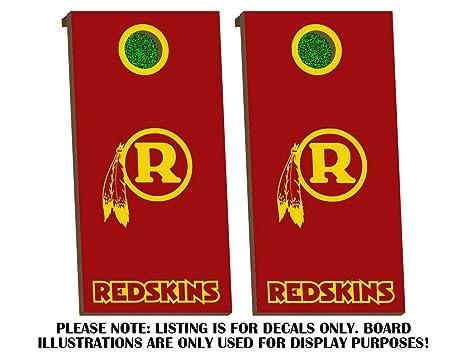 Cool Buy Decal Sticker Hub Washington Redskins Cornhole Board Uwap Interior Chair Design Uwaporg