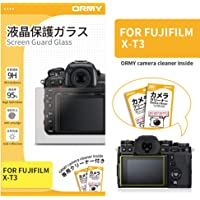 ORMY® Tempered Glass Camera Screen Guard for FUJIFILM X-T3 [Ultra-Thin, High Definition, 9H Hardness]