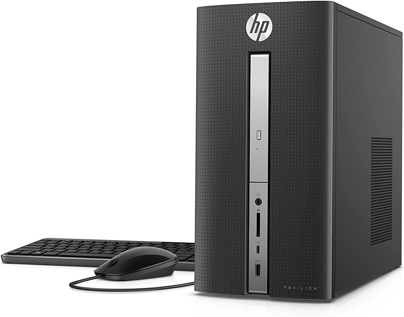 Newest HP Pavilion 570 High Performance Business Desktop - Intel Quad-Core i5-7400 Up to 3.5GHz, 16GB DDR4, 1TB HDD, SuperDVD Burner, WLAN, Bluetooth, HDMI, USB 3.0, Keyboard & Mouse, Windows 10