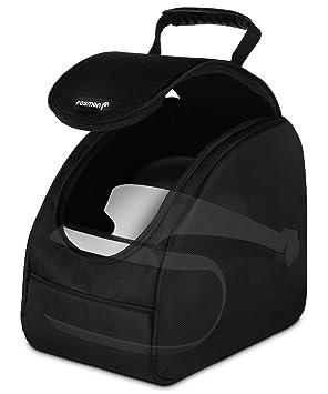 Fosmon Maletín de Transporte PSVR, PS4 VR Auriculares y Accesorios de Viaje Bolsa de Almacenamiento con divisores Ajustables para Playstation 5/4
