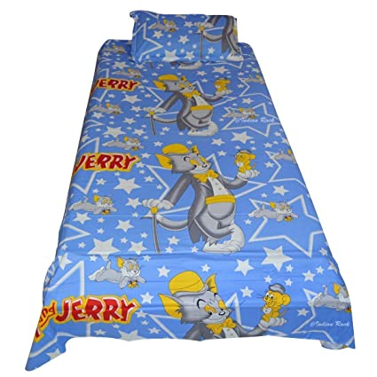 Buy Mahi Fashion Baby Bed Sheet Kids Single Bed Sheet With 1