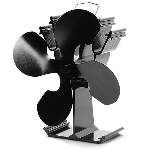 38 opinioni per Kenley- Ventilatore per camini a legna, funzionamento senza corrente, 4 Flügel