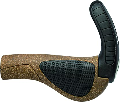 New Ergon GP3-S BioKork Small Grips Cork//Black