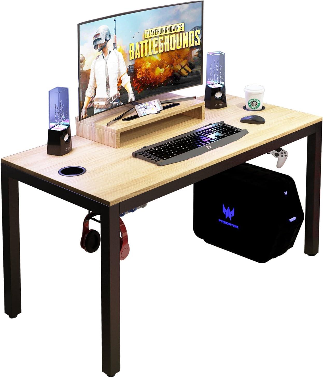 DlandHome Escritorio para computadora de Juegos, Mesa de Juego ...