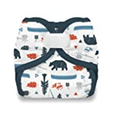 Thirsties Reusable Cloth Diaper Cover, Hook & Loop