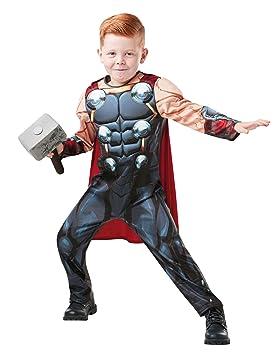 Rubies 640891 9-10 Marvel Avengers Thor Deluxe - Disfraz infantil para niños, talla única