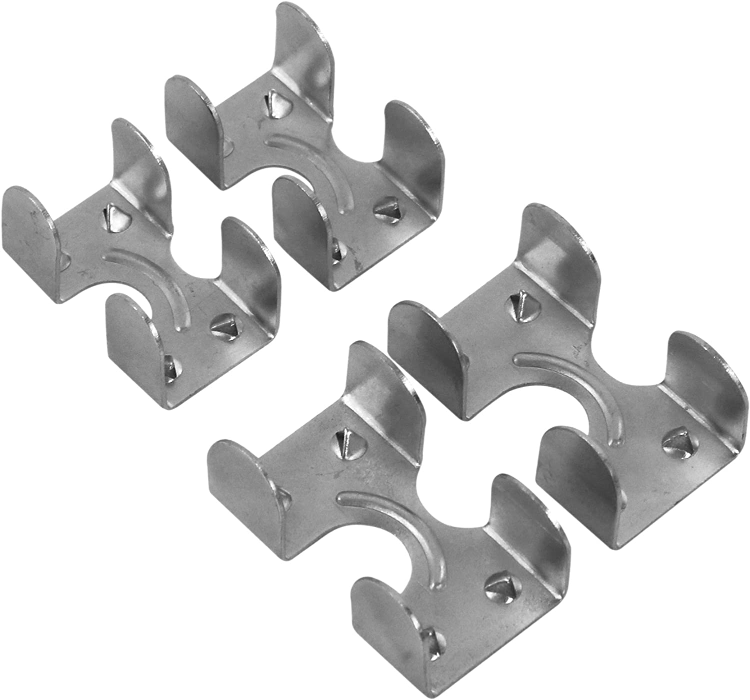 3//8 Inch and 1//2 Inch Rope Clamps 12 Total Clamps
