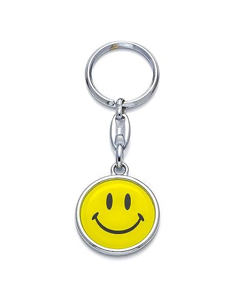 Llavero Emoji Emoticono Cara con sonrisa feliz Happy Face ...