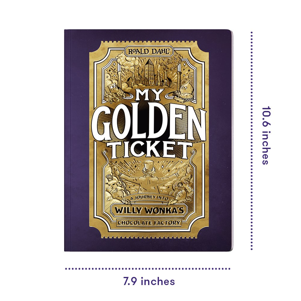 My Golden Ticket Personalized Willy Wonka Book Wonderbly Amazon