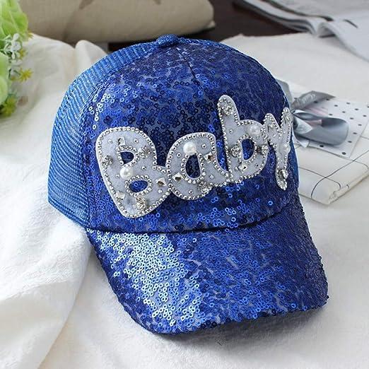 mlpnko Sombrero para niños Gorros para niñas Lentejuelas Niña ...