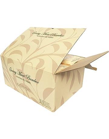 cannymum bambú Toallitas secas en impermeable paquetes. Rápido y fácil de preparar casera Pure &