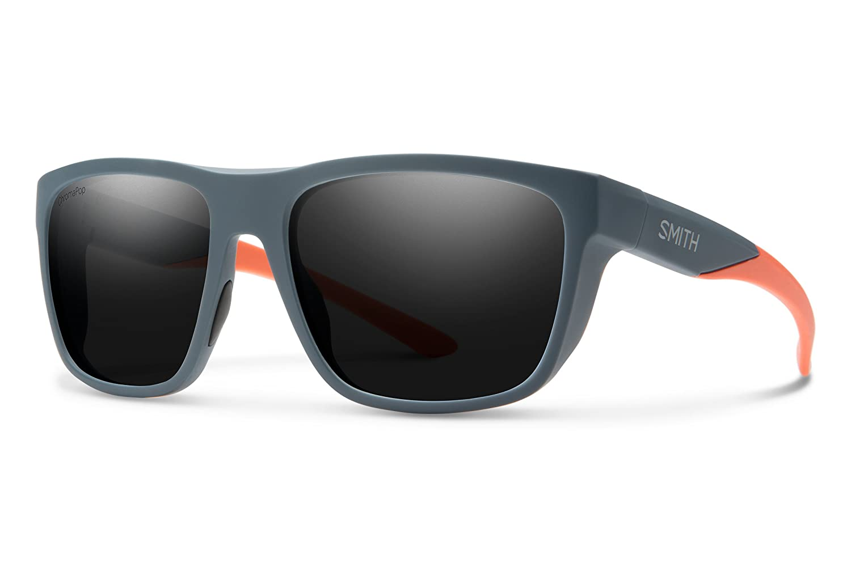 Smith Barra ChromaPop Polarized Sunglasses Matte Black Blue Smith Optics