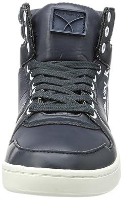 Jeans Sneaker Alta PERICO SHINY NYLON/SMOOTH, Blu, 42 EU Calvin Klein