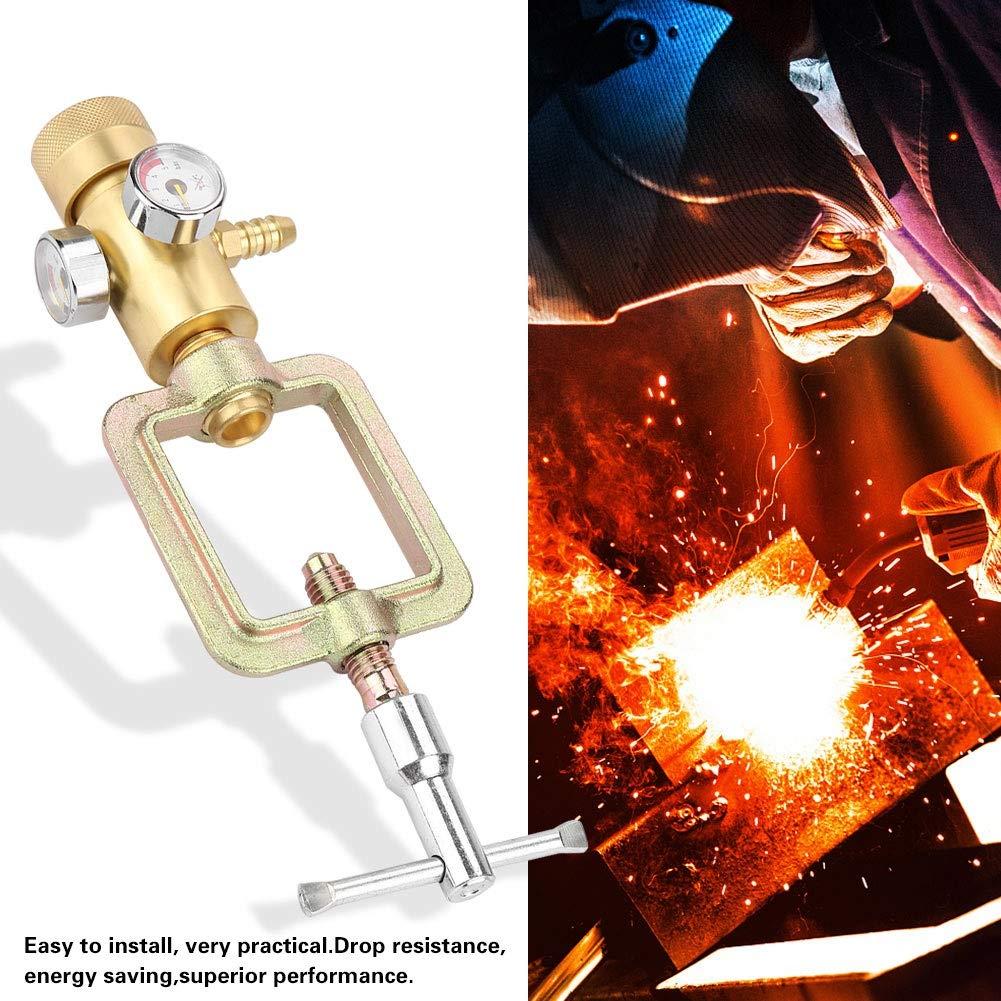Acetylene Pressure Gauge - 0.01-0.15MPa Acetylene Gas Pressure Reducer Air Flow Regulator Gauge Meter by MLMLH (Image #4)