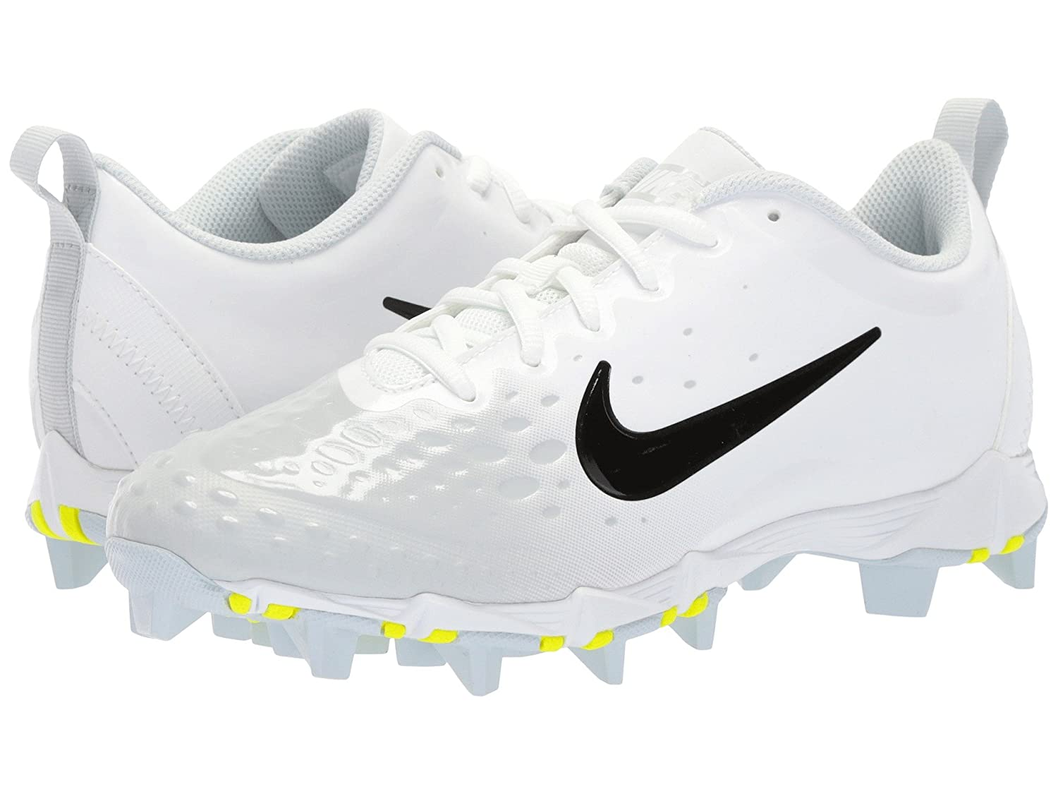 (ナイキ) NIKE レディース野球ベースボールソフトボールシューズ Hyperdiamond 2 Keystone White/Black/Pure Platinum/Pure Platinum 9 (26cm) B Medium B078Q22XZZ