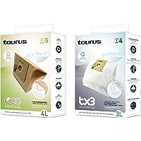 Taurus Microfibra TX3 Papel Accesorio bolsa aspirador, Multicolor
