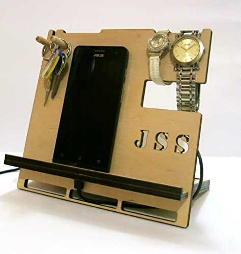 Dock Stand Personalised Docking Station Cool Mens Gift Birthday Tablet Holder