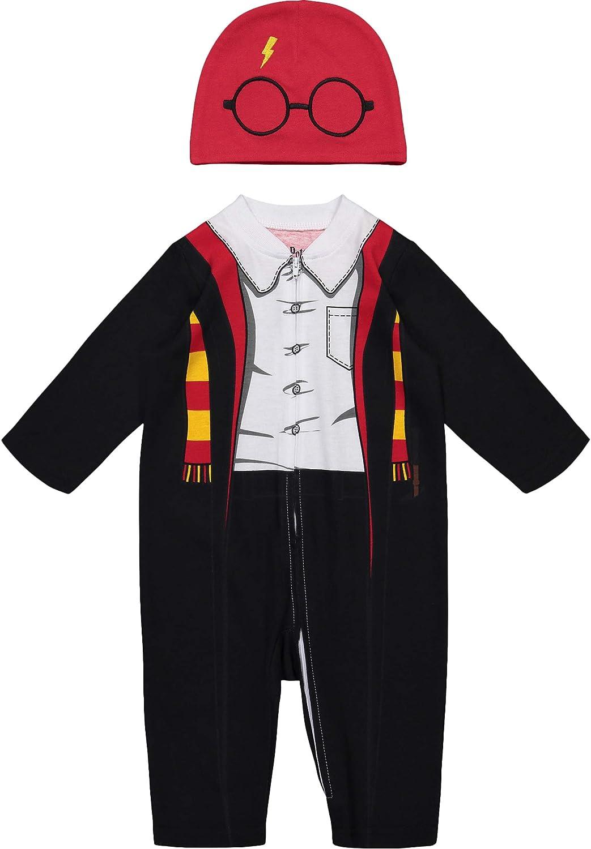 Tutina con Cerniera a Lampo e Cappa 24 Mesi Harry Potter Costume Bimbo Neonato Warner Bros