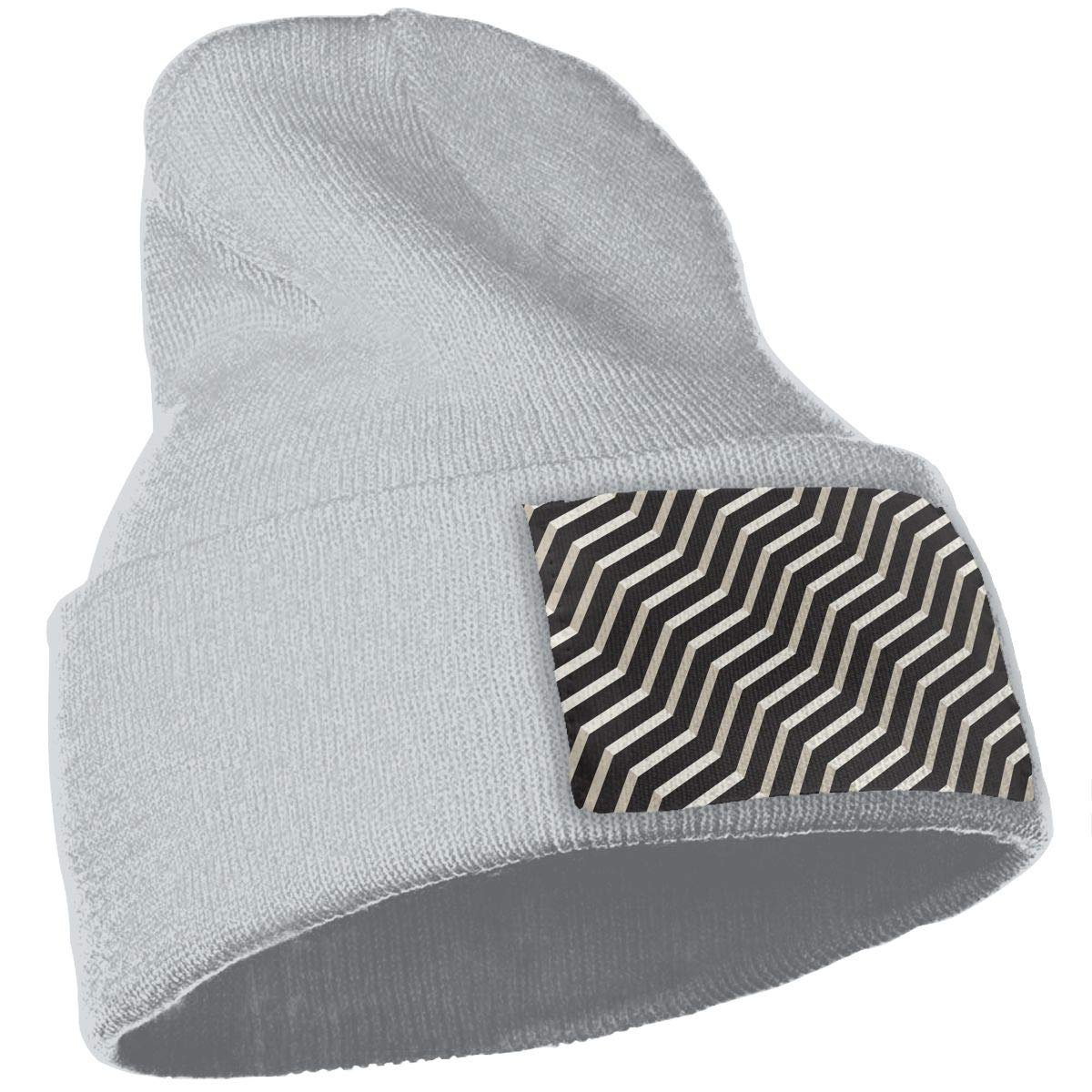 Modern Stylish Texture Unisex Fashion Knitted Hat Luxury Hip-Hop Cap