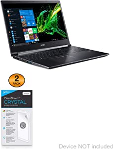 Acer Aspire 7 (A715-74G) Screen Protector, BoxWave® [ClearTouch Crystal (2-Pack)] HD Film Skin - Shields from Scratches for Acer Aspire 7 (A715-74G)