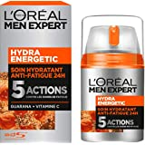L'Oréal Men Expert Hydra Energetic Soin Hydratant Anti-Fatigue Visage Homme 50 ml