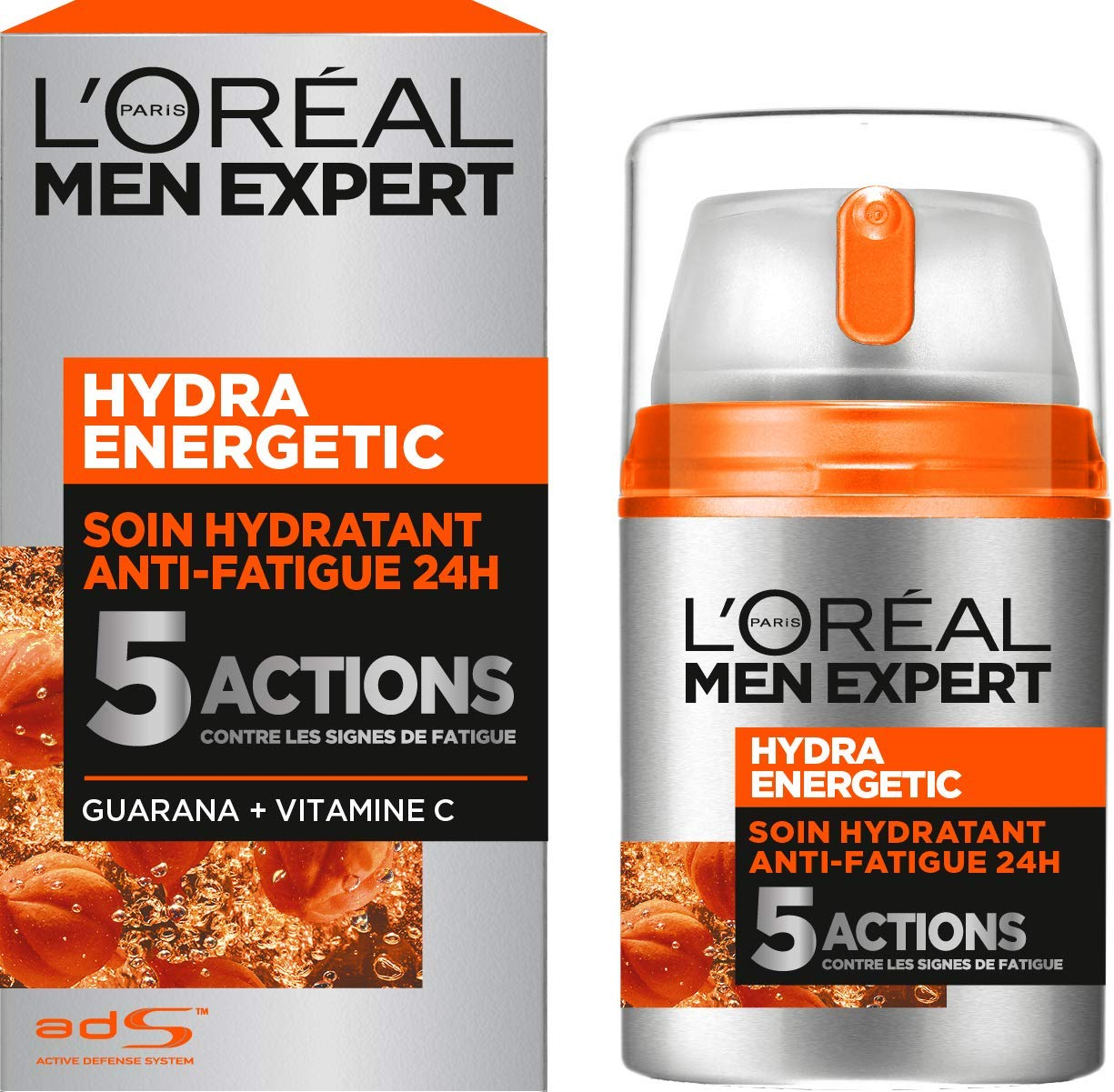L'Oréal Men Expert Hydra Energetic Soin Hydratant Anti-Fatigue Visage Homme 50 ml product image