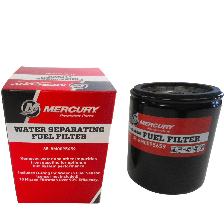 35-8M0095659 Mercury Marine Mercruiser New GENUINE Water Separating Fuel Filter