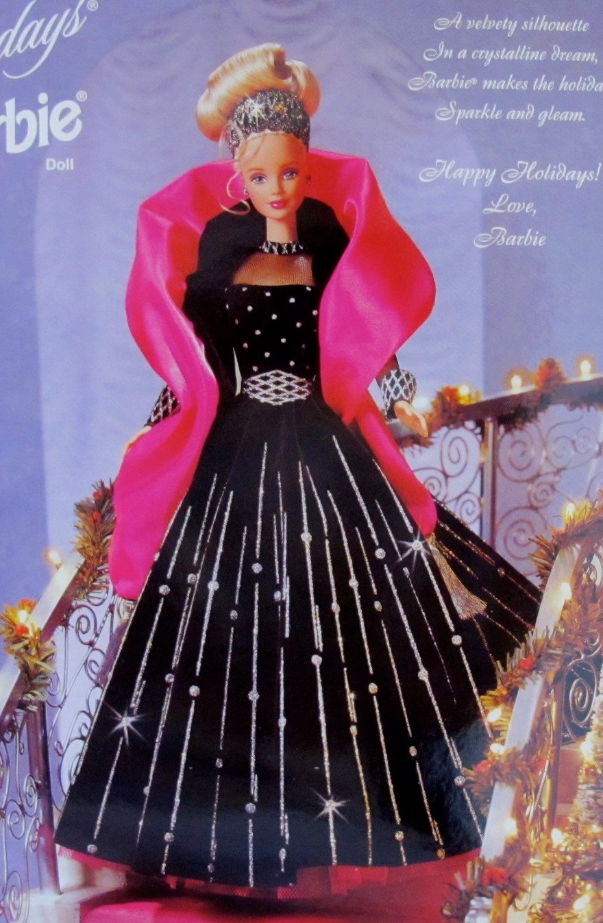 Barbie Happy Holidays Special Edition Barbie Doll (1998): Amazon
