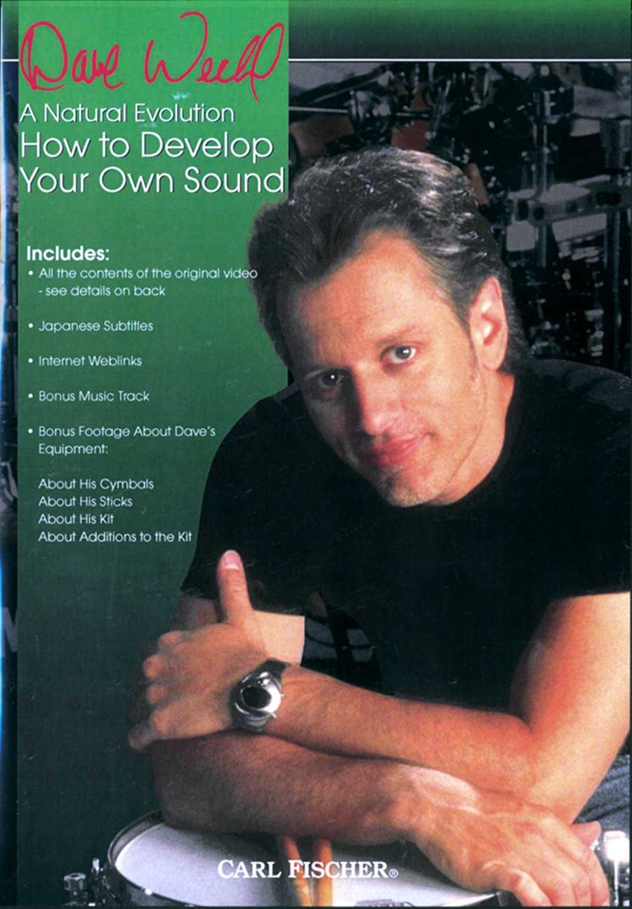 DVD : Dave Weckl - How to Develop Your Own Sound (DVD)