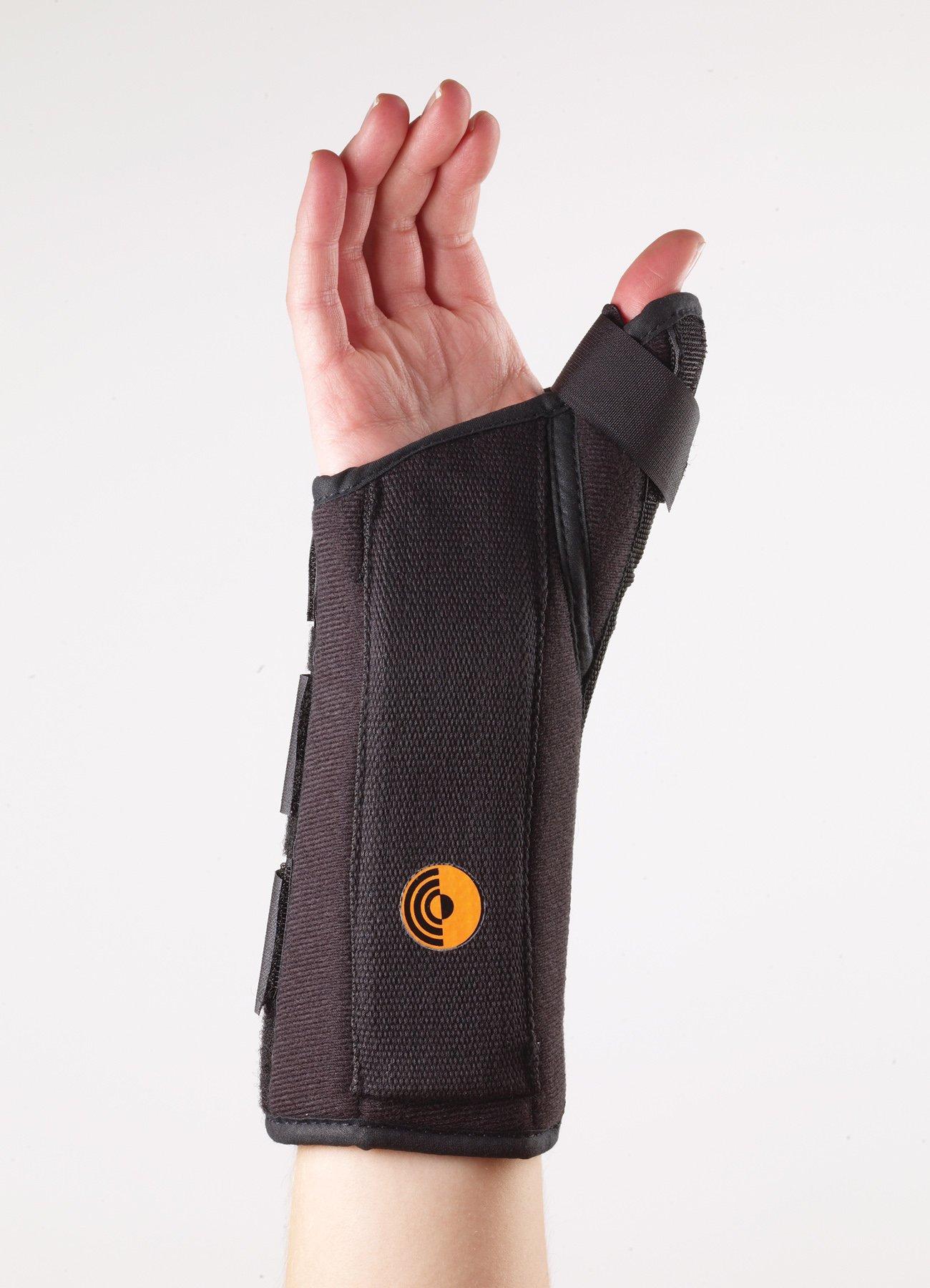 Corflex Ultra Fit Wrist Splint w/Abducted Thumb 8'' XS Left