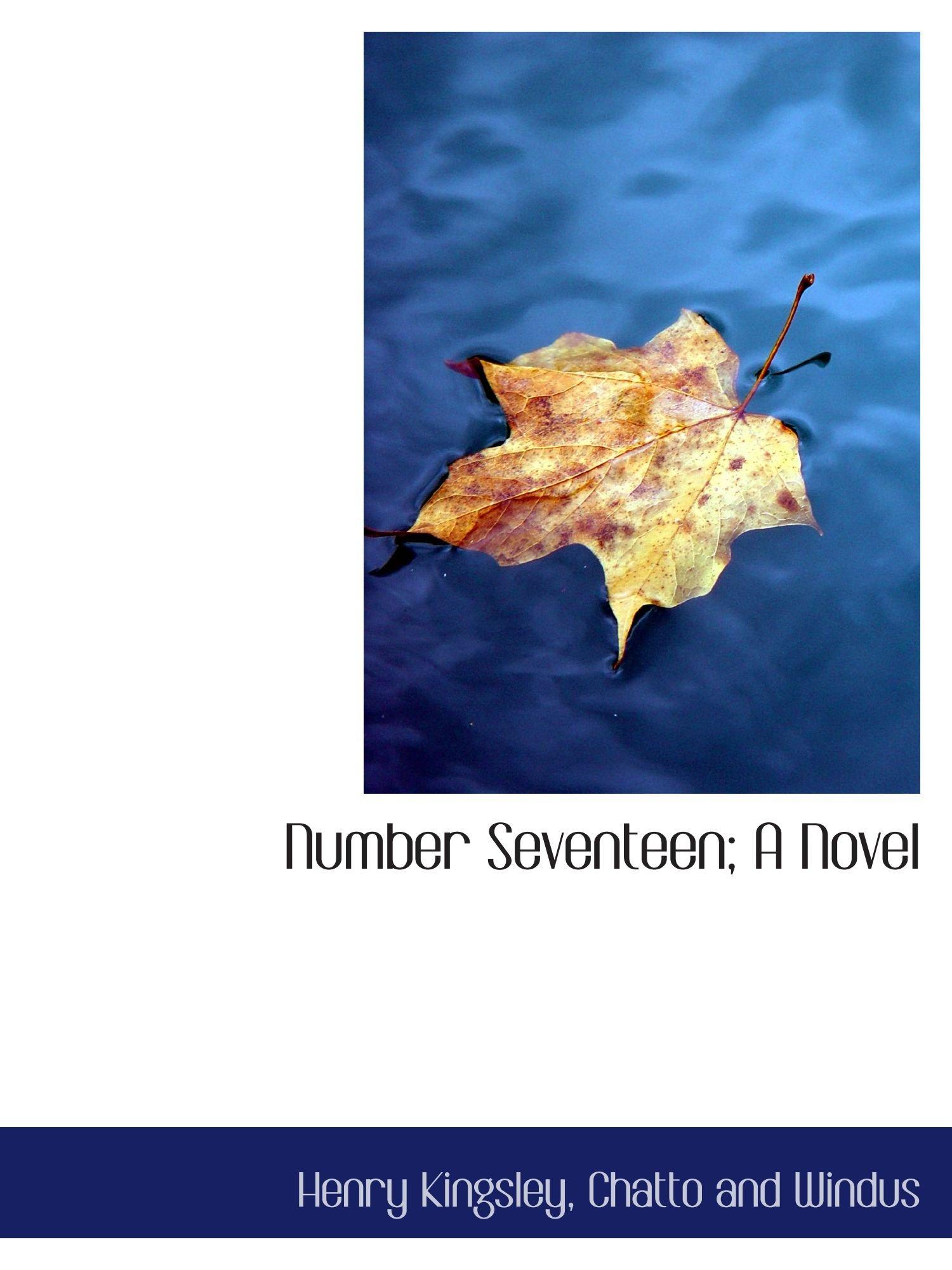 Read Online Number Seventeen; A Novel ebook