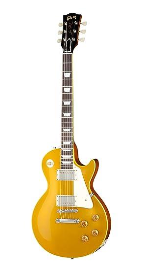 Gibson Standard Historic 1957 Les Paul Goldtop Reissue VO · Guitarra eléctrica: Amazon.es: Instrumentos musicales