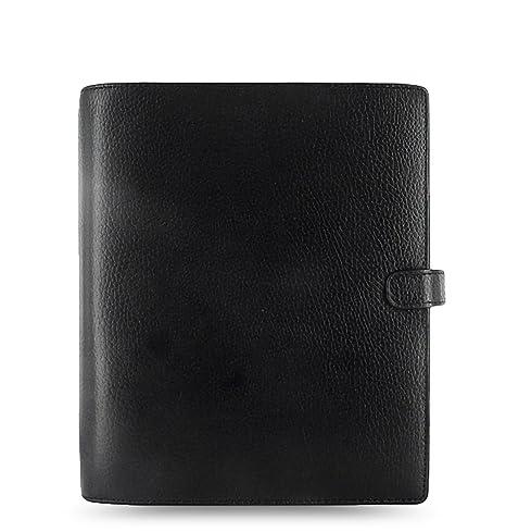 Filofax Finsbury 025368 - Agenda archivador (tamaño A5), color negro