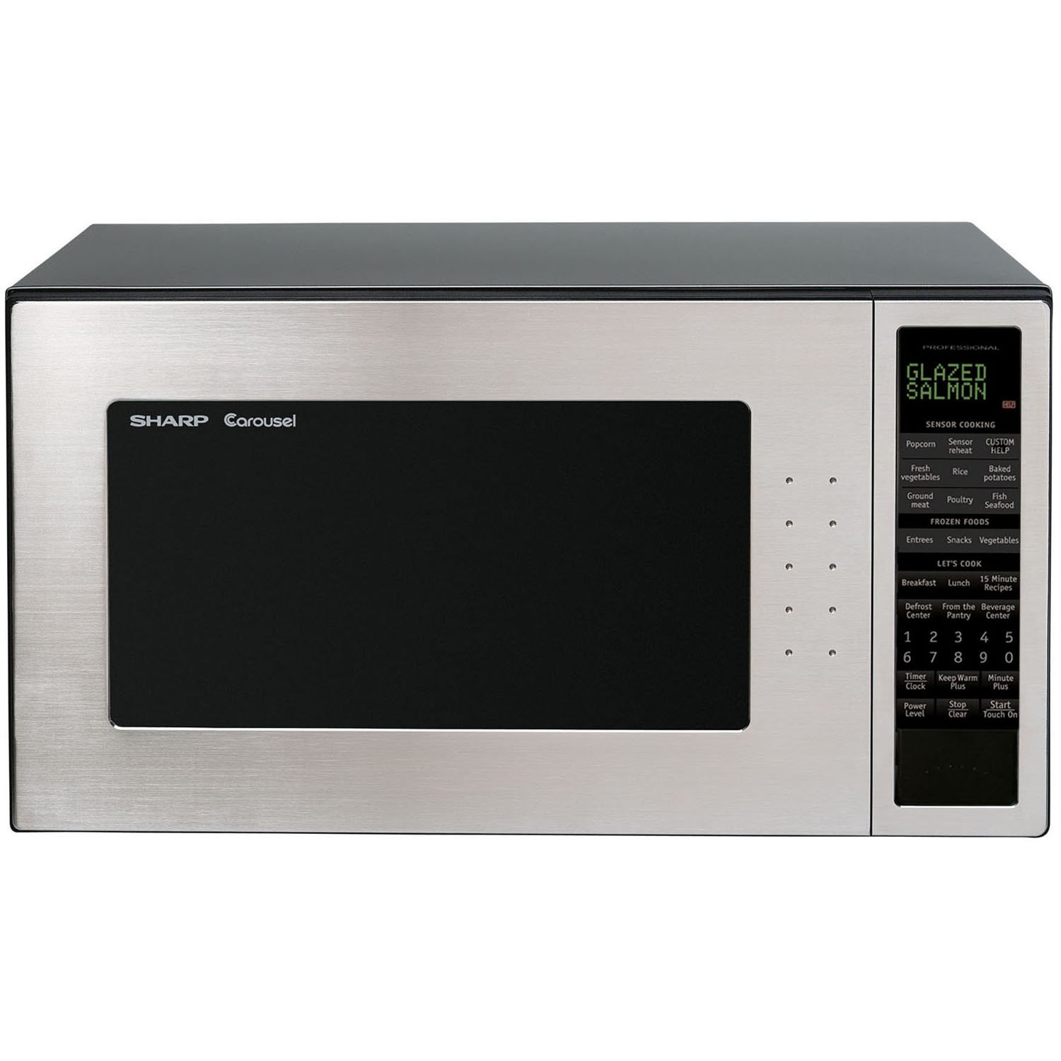 Amazon.com: Sharp R-530EST 2.0 cu. ft. 1200W Countertop Microwave ...