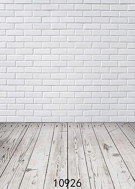 amazon com wolada 5x7ft photography background white brick wall