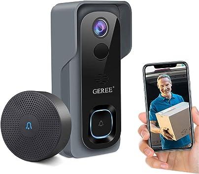 Video Doorbell Camera Wireless WiFi Smart Doo