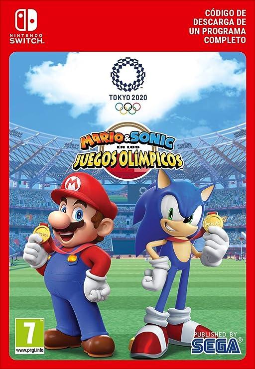 Mario & Sonic en los Juegos Olímpicos: Tokio 2020 Standard | Nintendo Switch - Código de descarga: Amazon.es: Videojuegos