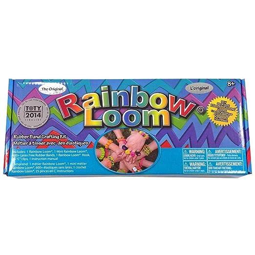 88 opinioni per Rainbow Loom 2.0- Kit per creare braccialetti, incl. 1 gancio con punta