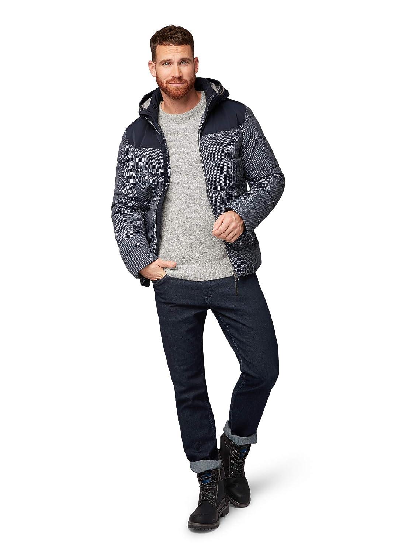 TOM TAILOR Herren Jacke Funktionsjacke mit mit mit Kaputze und Gesteppter Optik B07J57XXS7 Jacken Neuer Markt 45a259