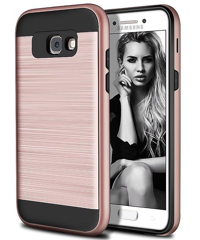 Vunake Galaxy A5 2017 Hülle, Galaxy A5 2017 Telefon Hülle Dual-Layer stoßfest Schutzhülle mit weichen TPU Silikon inneren Sto