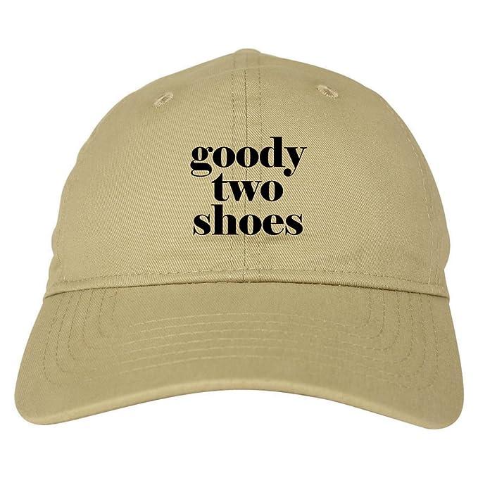 42c46291cc5 FASHIONISGREAT Goody Two Shoes Smart Cute Girl Gift Dad Hat Baseball Cap  Beige