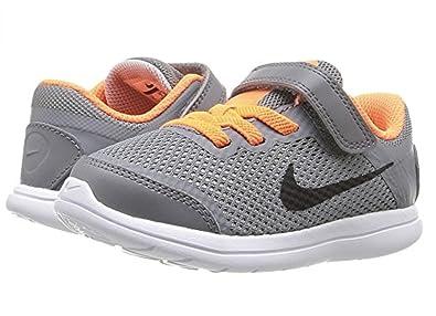 Nike Boy's Flex 2016 Running Shoes (4 Toddler M, Cool Grey/Black Total
