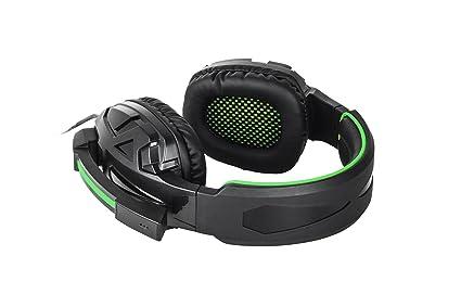 BG Xonar - Auriculares para gaming, color negro y verde: Amazon.es: Electrónica