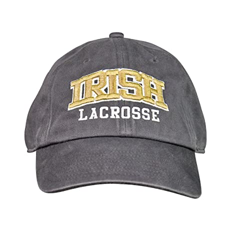reputable site 52546 f8d7d Image Unavailable. Image not available for. Color  NCAA Notre Dame Irish  47  Clean Up Lacrosse Hat
