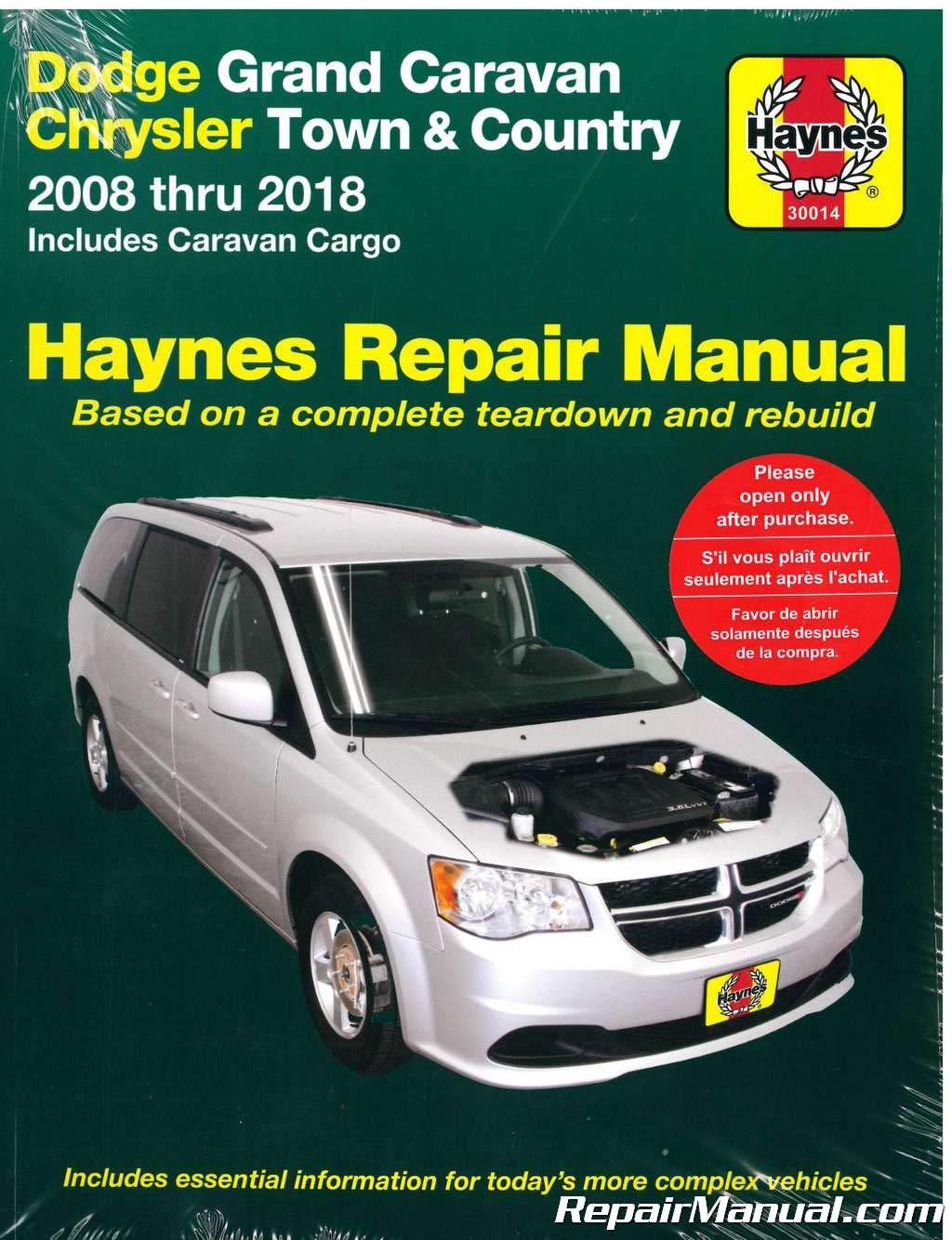 Dodge grand caravan repair manual 1990-2011.