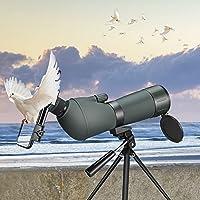 ETE ETMATE 20-75x70 HD Telescopio con trípode, Bolsa de Transporte y Adaptador para teléfono Inteligente - Telescopio…